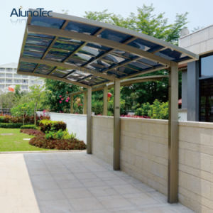 5.5mx5mx3m Waterproof Fashion Y Shape Aluminum Polycarbonate Carport pictures & photos