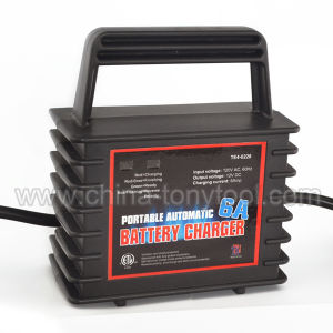 6A 12V Portable Car Battery Chargers pictures & photos