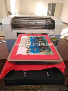 Multicolor DIY A3 Size T Shirt Printing Machine with 5760*1440dpi pictures & photos