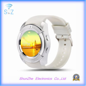 Multi-Function Fashion Andriod V8 Sport Smart Watch for Health Monitor Bluetooth pictures & photos