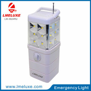 3W Rechargeable DC Emergency LED Solar Light pictures & photos