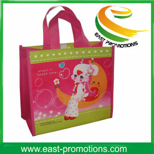 PP Non Woven Laminated Shopping Tote Bag with Custom Size pictures & photos
