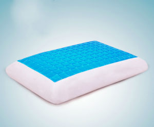 New Design Gel Memory Foam Back Cushion Lumbar Support Health Pillow pictures & photos