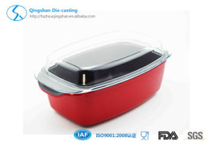 Aluminum Die Casting Non-Stick Fish Roasting Pan pictures & photos