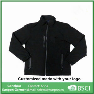 Customized Waterproof Softshell Jacket for Men pictures & photos