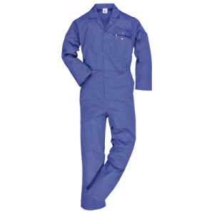 Safety 65% Polyester 35%Cotton Long Sleeve Working Garment Overall pictures & photos