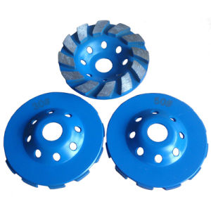 Concrete Diamond Grinding Cup Wheel Metal Grinding Discs 100mm Grinding Blade pictures & photos