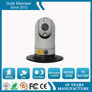 IP66 1080P IR 20 Zoom HD Vehicle PTZ Camera pictures & photos