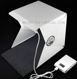 OEM Mini Portable Folding Photography Chargeable LED Studio pictures & photos