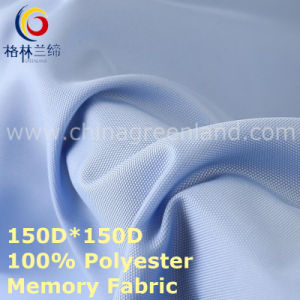 Polyester Memory Oxford Fabric for Casual Wear Textile (GLLML431) pictures & photos