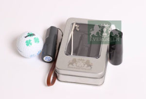 Plastic Golf Ball Stamps Round Dia. 12mm, Best Gift for Golfer pictures & photos