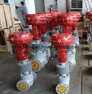CV3000 Top Guided Single Seat Pneumatic Flow Control Valve (ZJHP) pictures & photos