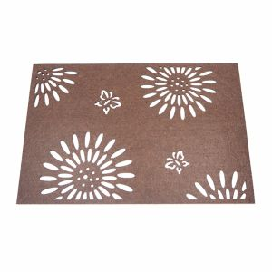 3mm & 5mm Season Polyester Placemat for Tabletop and Holiday Decorations pictures & photos