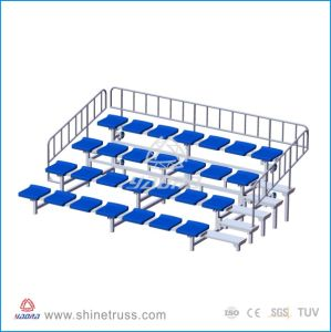 School Stadium Used Retractable Outdoor Bleacher Seats for Renting pictures & photos
