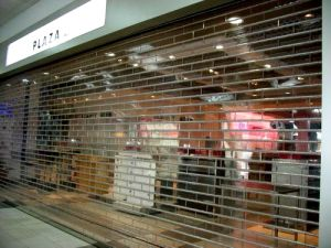 Titus Security Grilles Transparent PVC Rolling Shutter Door (Hz-TD020) pictures & photos
