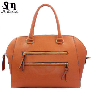New Fashion PU Tote Handbags for Women pictures & photos