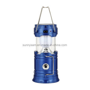 Portable Solar Lantern with Mobile Phone Charger Outdoor Lighting Products Solar Camping Light pictures & photos