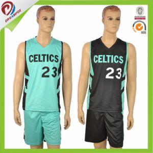 Free Polyester Team Basketball Uniform Set Logo Design pictures & photos