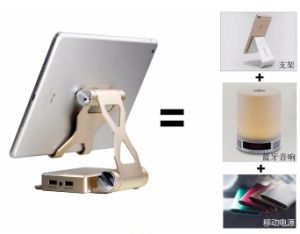 Phone Holder Stand 3 in 1 10000mAh Power Bank Bluetooth Speaker, Music Wireless Speaker pictures & photos