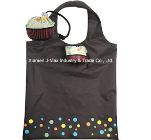 Foldable Shopping Bag, Food Cupcake Style, Reusable, Lightweight, Tote Bags, Promotion, Grocery Bags and Handy, Accessories & Decoration, Gifts pictures & photos