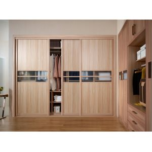China Grandshine 2017 Modern Melamine Wood Grain Closet for ...