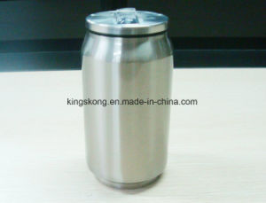 Cool Gear Can with Straw Spill Proof pictures & photos
