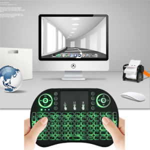 Three Colors I8 Backlit Keyboard Fly/Air Mouse From Joinwe pictures & photos