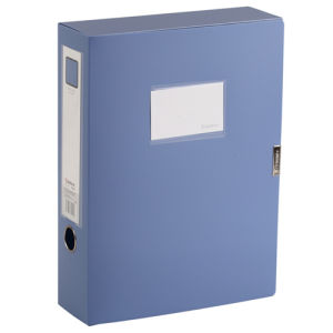 Blue File Holder Plastic Document Holder for Cleanroom pictures & photos
