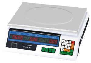 Acs Series Plastic Price Computing Weighing Scale pictures & photos