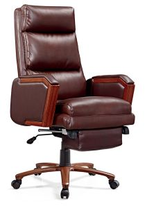 Modern Luxury Adjustable Leather Ergonomic Boss Chair pictures & photos