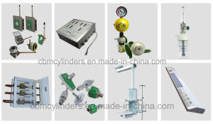 Advanced Medical Gas (O2, Air, VAC, N2O, CO2, N2) Outlet Valves pictures & photos