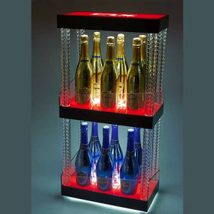 Colorful Acrylic LED Liquor Display Stand pictures & photos