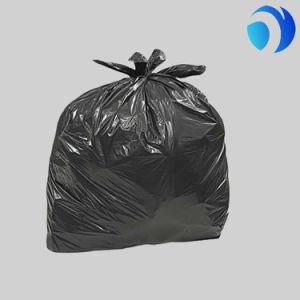 Recycled Custom Medium Duty Black Garbage Bin Bag Refuse Sucks pictures & photos