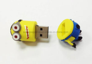 Minions Promotion Gift Customized Soft PVC USB Flash Drive pictures & photos