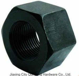 Heavy Hex Nuts (1/4′-4′ ASTM A194-4) pictures & photos