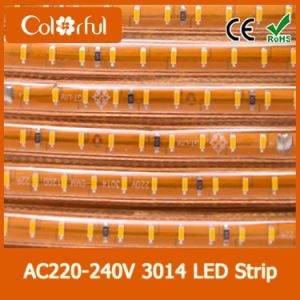 High Voltage Flexible AC230V SMD3014 LED Strip pictures & photos