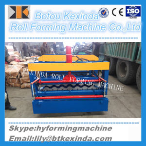 950 Glazed Tile Steel Tile Making Production Machines pictures & photos