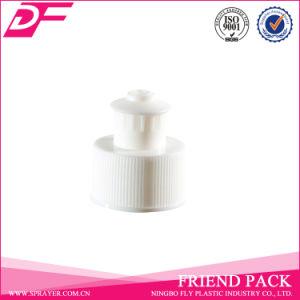 Plastic Screw Bottle Lid Push Pull Cap pictures & photos