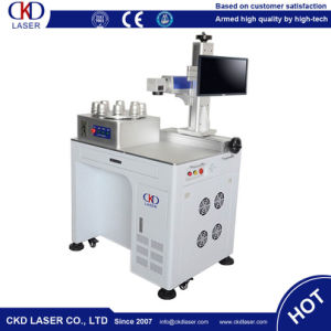 Rotary Fiber Laser Marker Engraving Machine for LED Bulb pictures & photos
