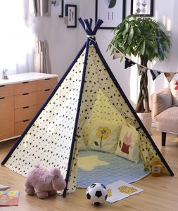 Cute Kids Teepee Tent with Star Printing for Sale pictures & photos