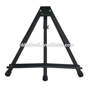 Top Quality Black Aluminum Table Display Easel pictures & photos