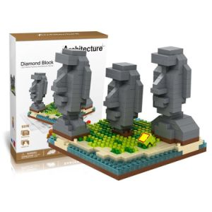 6739378-440PCS Easter Island Building Block Educational Toy for Cooperative Ability - World Great Architecture Series - as The Picture pictures & photos