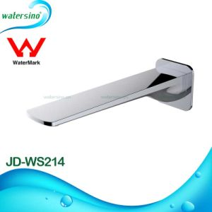 Brass Gold-Plated Bathroom Washing Basin Water Spout pictures & photos