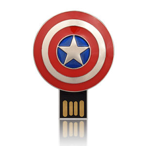 Wholesale Avengers USB 1GB Flash Disk Captain American Thumb Drive pictures & photos