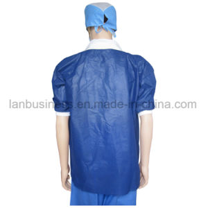 Inexpensive Impervious Disposable Lab Coats pictures & photos