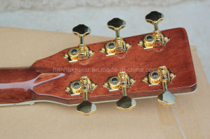 Hanhai Music/41′′ Acoustic Guitar with All Solid Wood Body (D42) pictures & photos