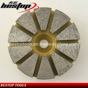 3 Inch 16# Soft Bond Grinding Disc for Concrete pictures & photos