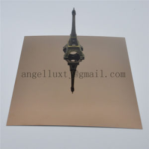 Mirror Gold Color One Side or Both Sides Stainless Steel Sheet for Bathroom Wall Decoration pictures & photos