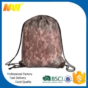 Amry Polyester Camouflage Drawstring Bag pictures & photos