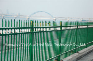 Haohan High-Quality Elegant Decorative Security Garden Galvanized Steel Fence 65 pictures & photos